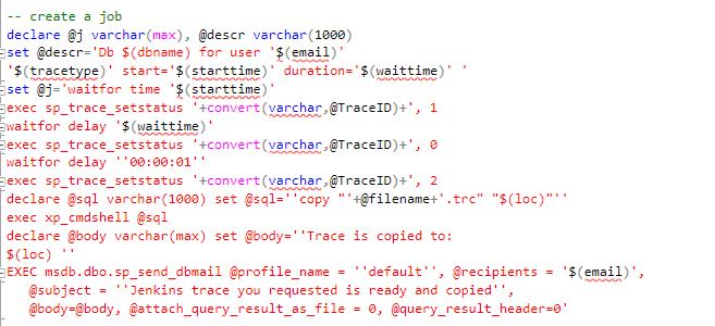 Как запустить SQL Profiler Trace ночью, в определенное время? - 9