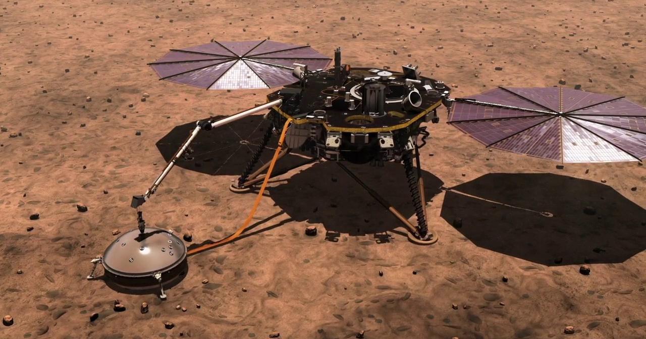 Прямая трансляция: посадка зонда на Марс
