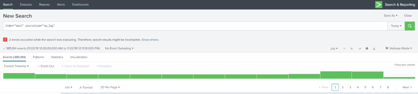 1. Анализ логов Check Point: официальное приложение Check Point для Splunk - 10