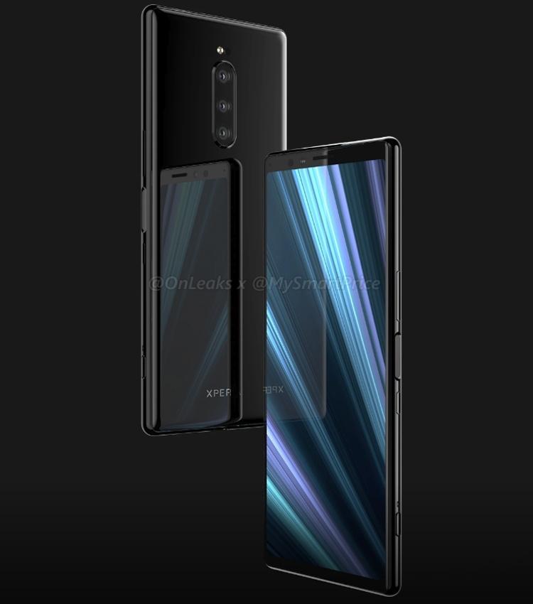 Качественные рендеры раскрывают особенности дизайна смартфона Sony Xperia XZ4