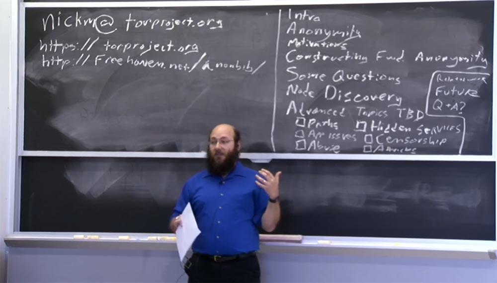 Курс MIT «Безопасность компьютерных систем». Лекция 19: «Анонимные сети», часть 1 (лекция от создателя сети Tor) - 2