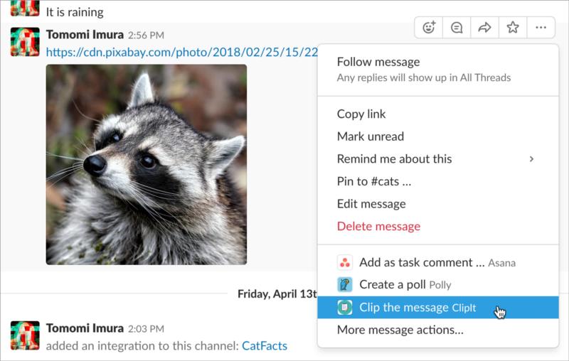 Разработка Action-able приложения для Slack - 9