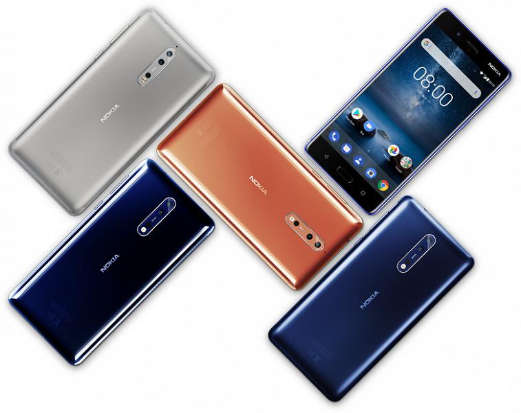 Смартфон Nokia 8 с Android 9.0 Pie уже протестировали