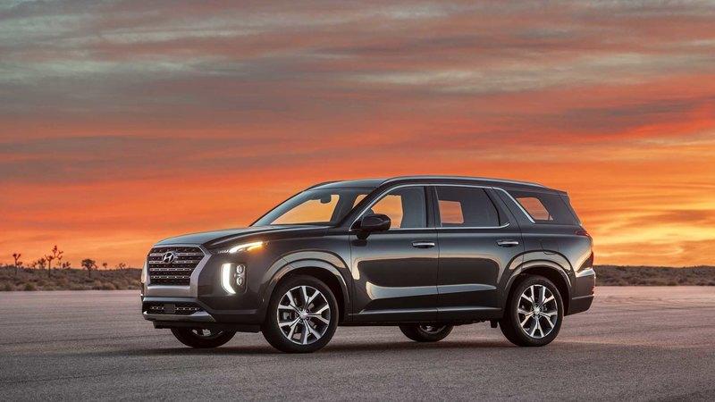 Hyundai презентовала новый флагманский кроссовер