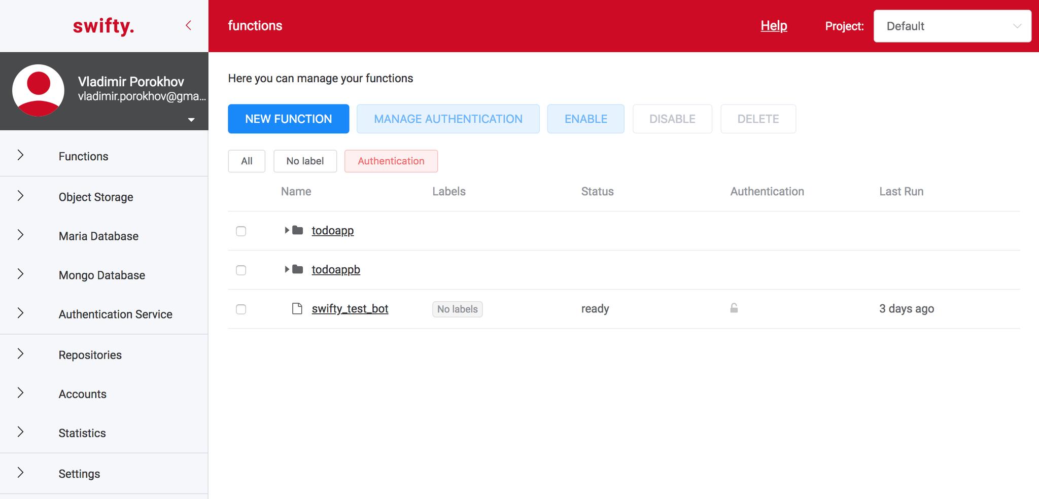Make your ideas come app. Serverless приложение — пошаговая инструкция - 2