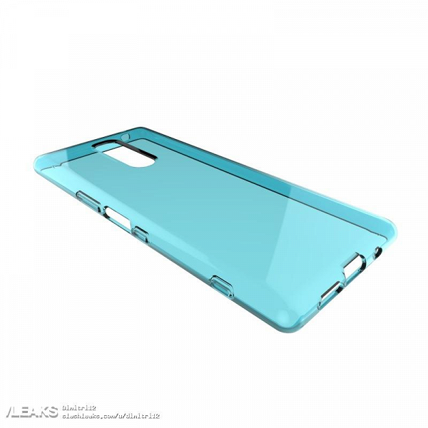 Изображения чехла для смартфона Sony Xperia XZ4 подтверждают наличие тройной камеры и разъема 3,5 мм