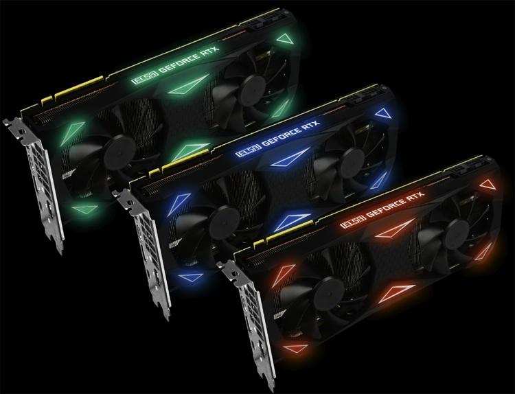 ELSA GeForce RTX 2080 Erazor Gaming: игровая видеокарта с подсветкой