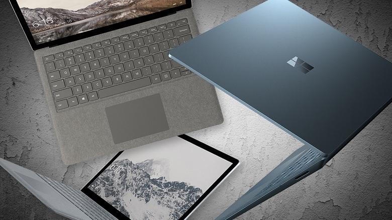Microsoft может перевести ноутбуки Surface Laptop на процессоры AMD