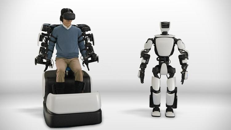 Toyota показала возможность управления человекоподобным роботом через 5G-сеть