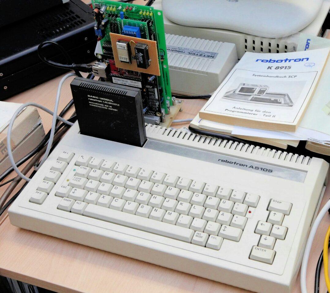 Robotron BIC A5105 — неизвестная персоналка ГДР - 1