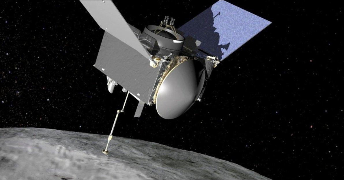 Подлет зонда OSIRIS-Rex к астероиду Bennu: прямая трансляция