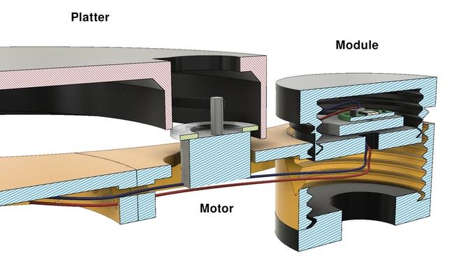 Создан первый модульный проигрыватель винила, распечатанный на 3D-принтере, DIY-набор планируют выпускать серийно - 5