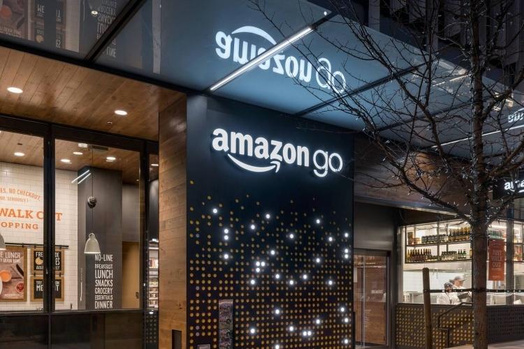 Amazon тестирует свою технологию без кассиров в крупных магазинах