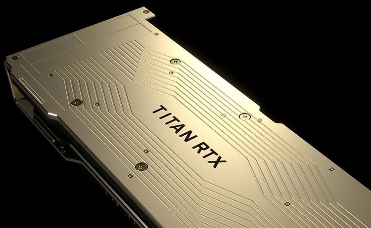 NVIDIA представила Titan RTX: самая мощная потребительская видеокарта оценена в 222 000 рублей