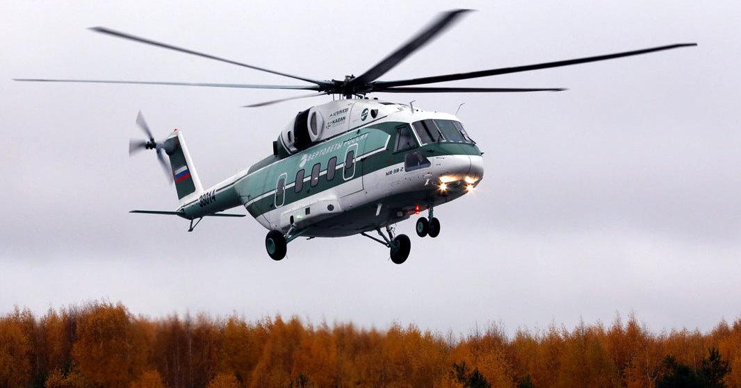 Чем VIP-версия Ми-38 будет отличаться от обычного вертолёта