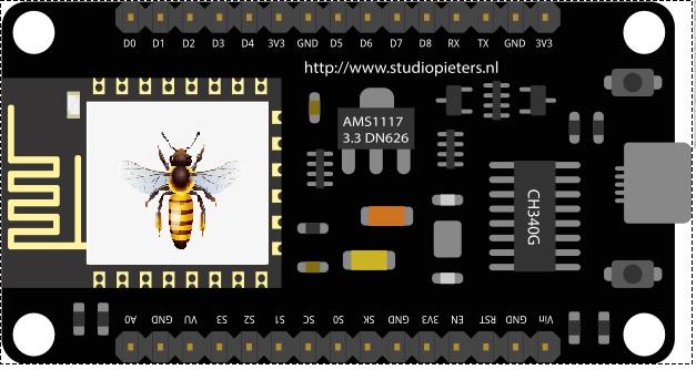 Пчела на микроконтроллере