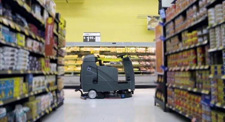 В магазинах Walmart в январе появятся автономные роботы-уборщики