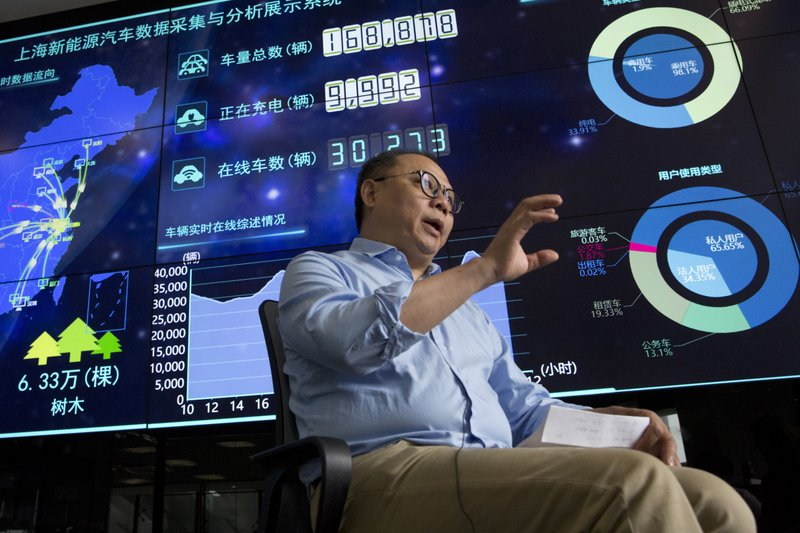 Власти Китая собирают информацию с электромобилей граждан страны - 1