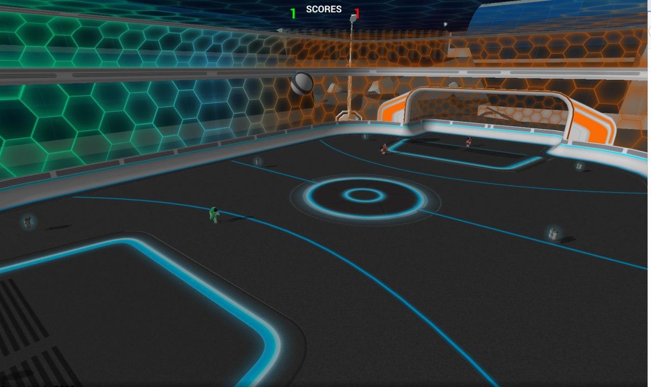 Russian AI Cup 2018: CodeBall. Зрелищное 3D соревнование - 7