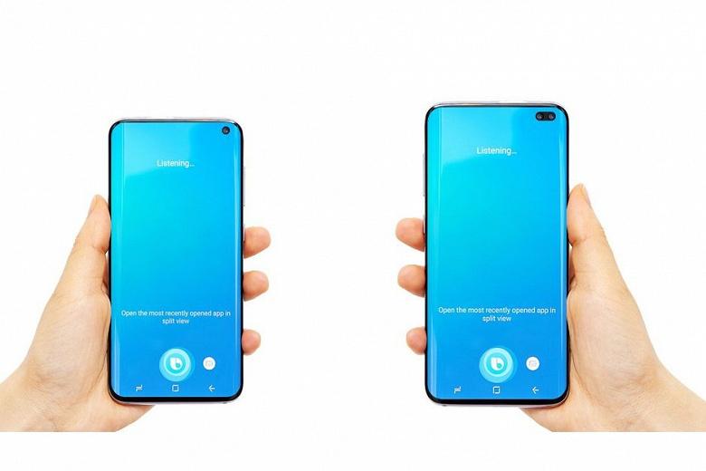 У смартфона Samsung Galaxy S10 будет вдвое меньше камер, чем у Galaxy S10+