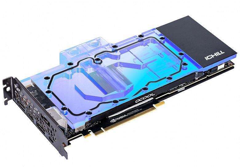 Inno3D представила видеокарты GeForce RTX iChill Frostbite с жидкостными системами охлаждения