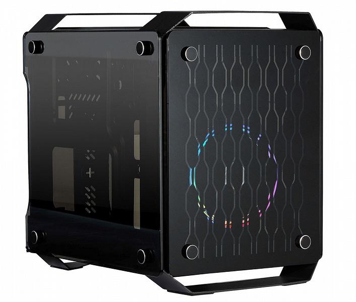 Компьютерный корпус X2 Spartan 716 с тремя панелями из закаленного стекла стоит 60 евро