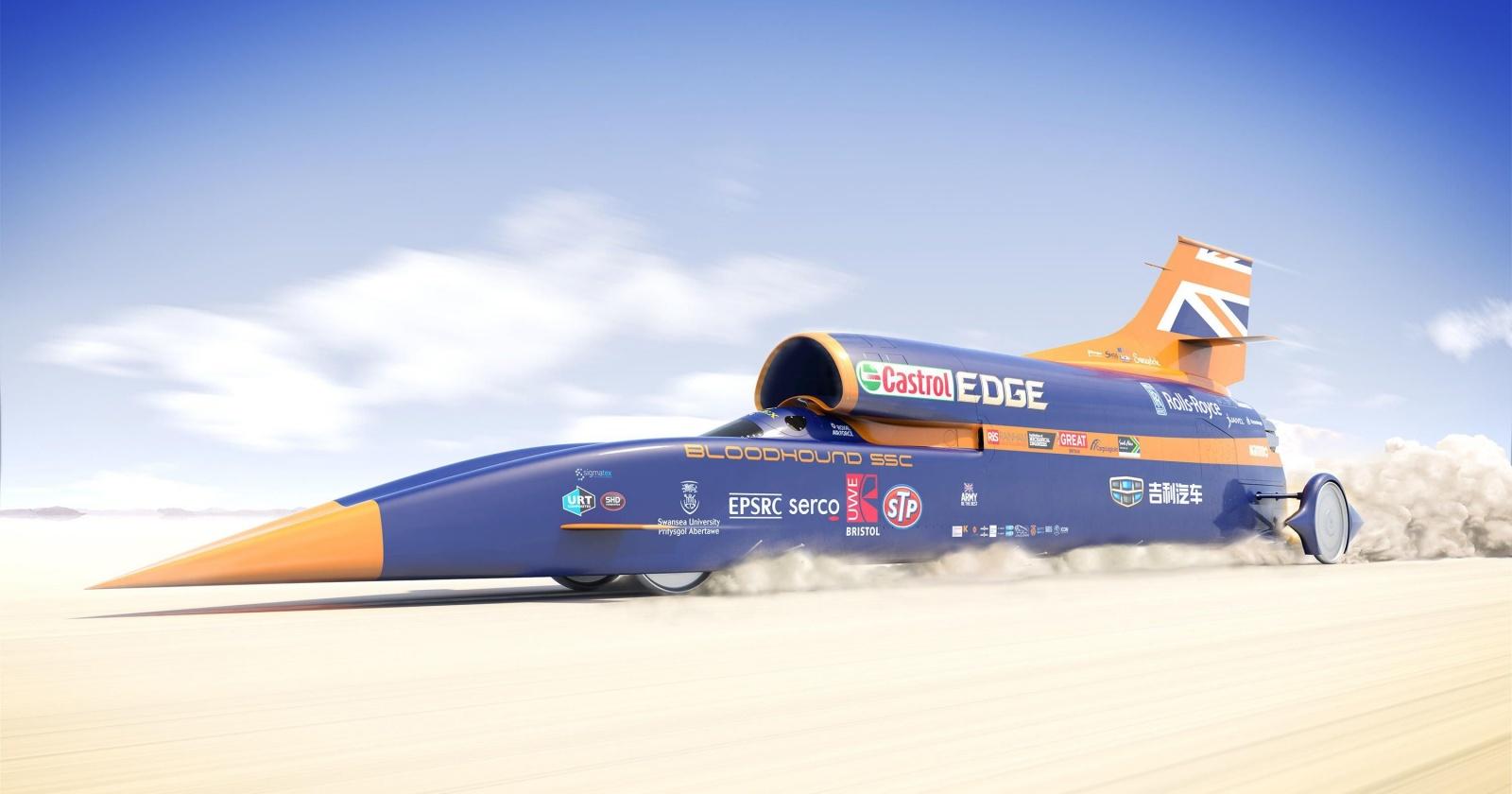 Проект сверхзвукового автомобиля для рекорда скорости закрылся