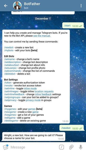 Пример использования Java-библиотеки для создания Telegram-бота - 2