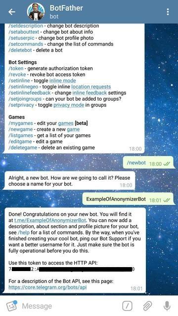 Пример использования Java-библиотеки для создания Telegram-бота - 3