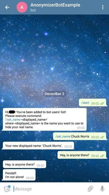 Пример использования Java-библиотеки для создания Telegram-бота - 5