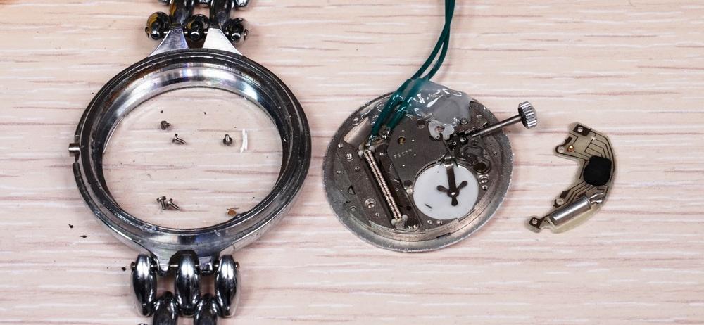 Гикпорн наручных кварцевых часов «Луч» — и немного оверклокинга - 3
