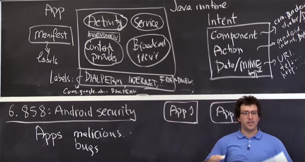 Курс MIT «Безопасность компьютерных систем». Лекция 20: «Безопасность мобильных телефонов», часть 1 - 9