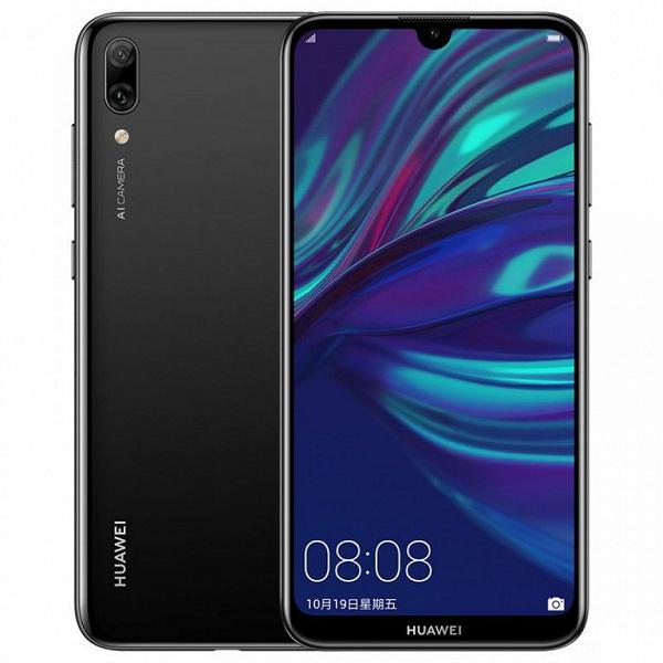 Представлен бюджетный смартфон Huawei Enjoy 9: полукруглый вырез экрана, двойная камера, SoC Snapdragon 450 и АКБ емкостью 4000 мАч
