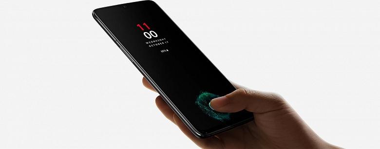 Сканер отпечатков пальцев смартфона OnePlus 6T со временем начинает работать быстрее