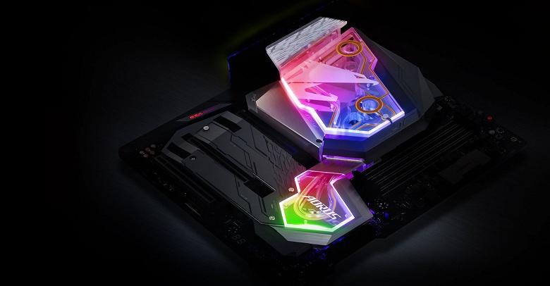 Gigabyte Z390 Aorus Xtreme WaterForce — топовая системная плата с водоблоком, качественной аудиоподсистемой и широким набором портов