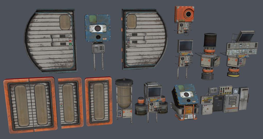 Модульный Sci-Fi уровень на UE4: вдохновляемся Ностромо и Серенити - 11