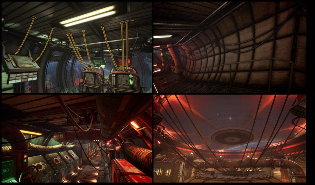 Модульный Sci-Fi уровень на UE4: вдохновляемся Ностромо и Серенити - 12