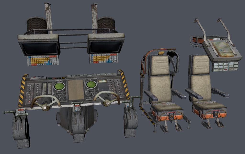 Модульный Sci-Fi уровень на UE4: вдохновляемся Ностромо и Серенити - 13