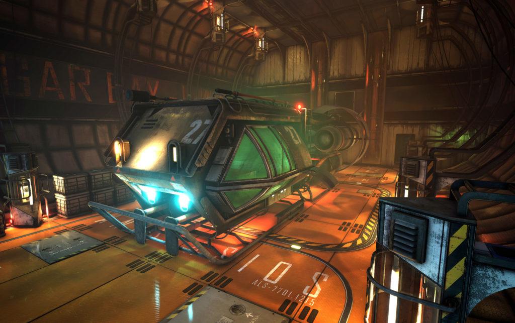 Модульный Sci-Fi уровень на UE4: вдохновляемся Ностромо и Серенити - 2