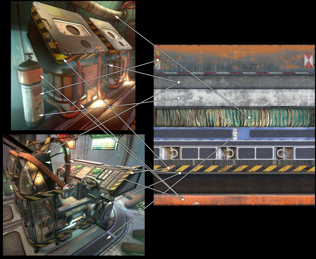 Модульный Sci-Fi уровень на UE4: вдохновляемся Ностромо и Серенити - 20
