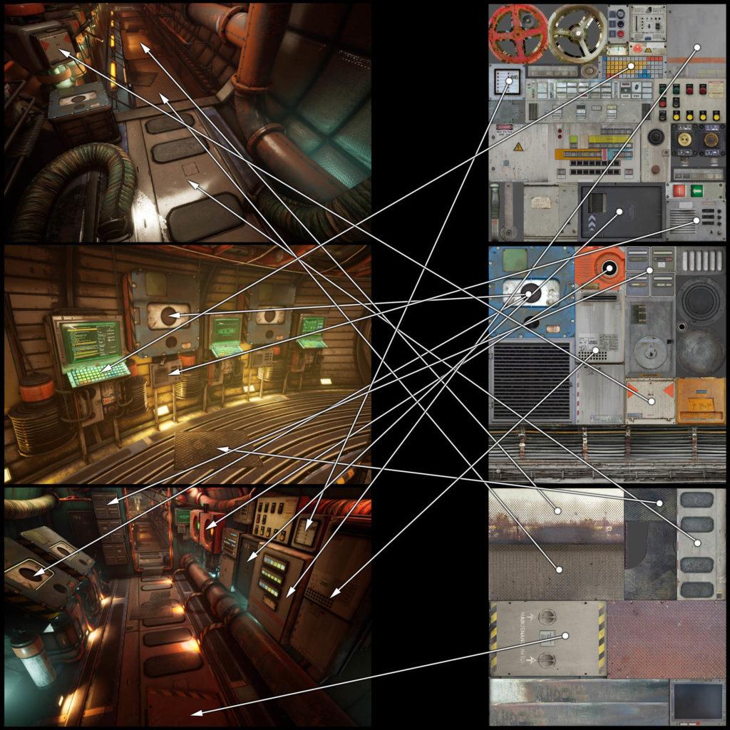 Модульный Sci-Fi уровень на UE4: вдохновляемся Ностромо и Серенити - 21