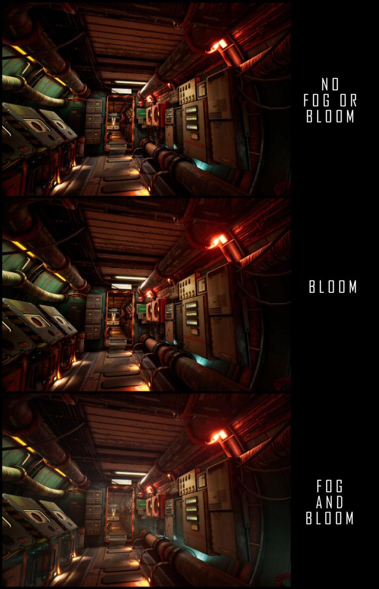 Модульный Sci-Fi уровень на UE4: вдохновляемся Ностромо и Серенити - 26