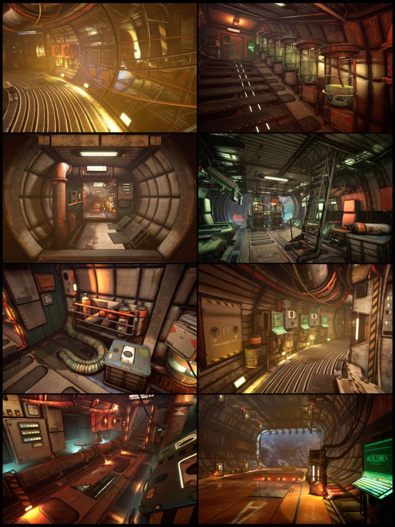 Модульный Sci-Fi уровень на UE4: вдохновляемся Ностромо и Серенити - 27