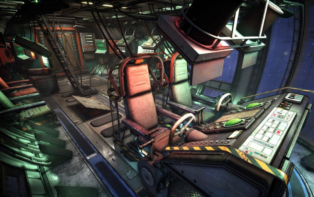 Модульный Sci-Fi уровень на UE4: вдохновляемся Ностромо и Серенити - 3