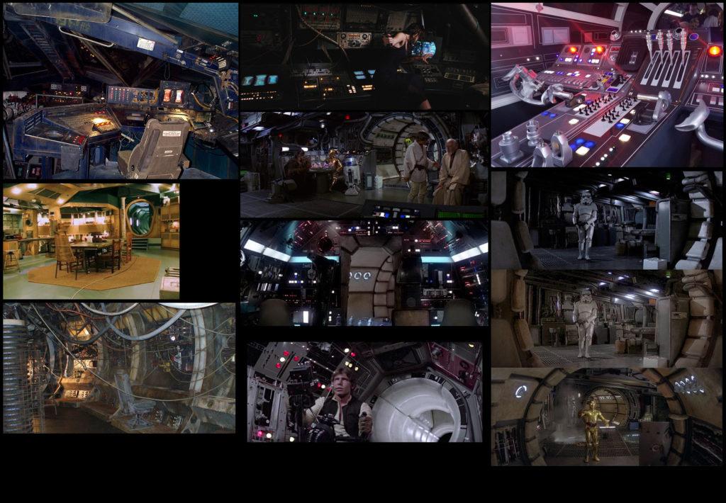Модульный Sci-Fi уровень на UE4: вдохновляемся Ностромо и Серенити - 4