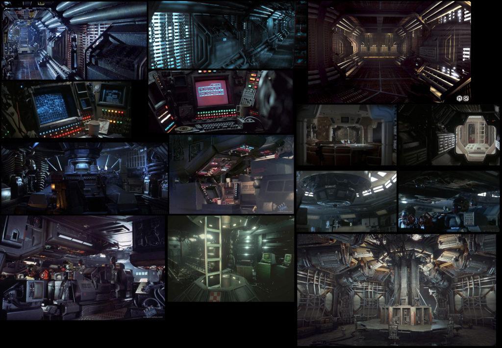 Модульный Sci-Fi уровень на UE4: вдохновляемся Ностромо и Серенити - 5