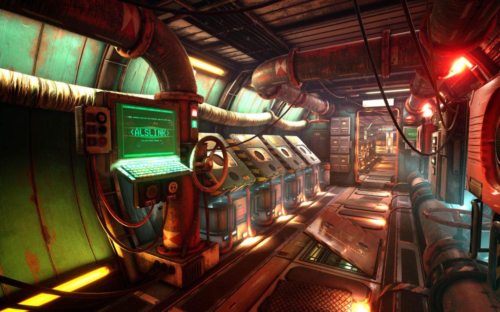 Модульный Sci-Fi уровень на UE4: вдохновляемся Ностромо и Серенити - 1