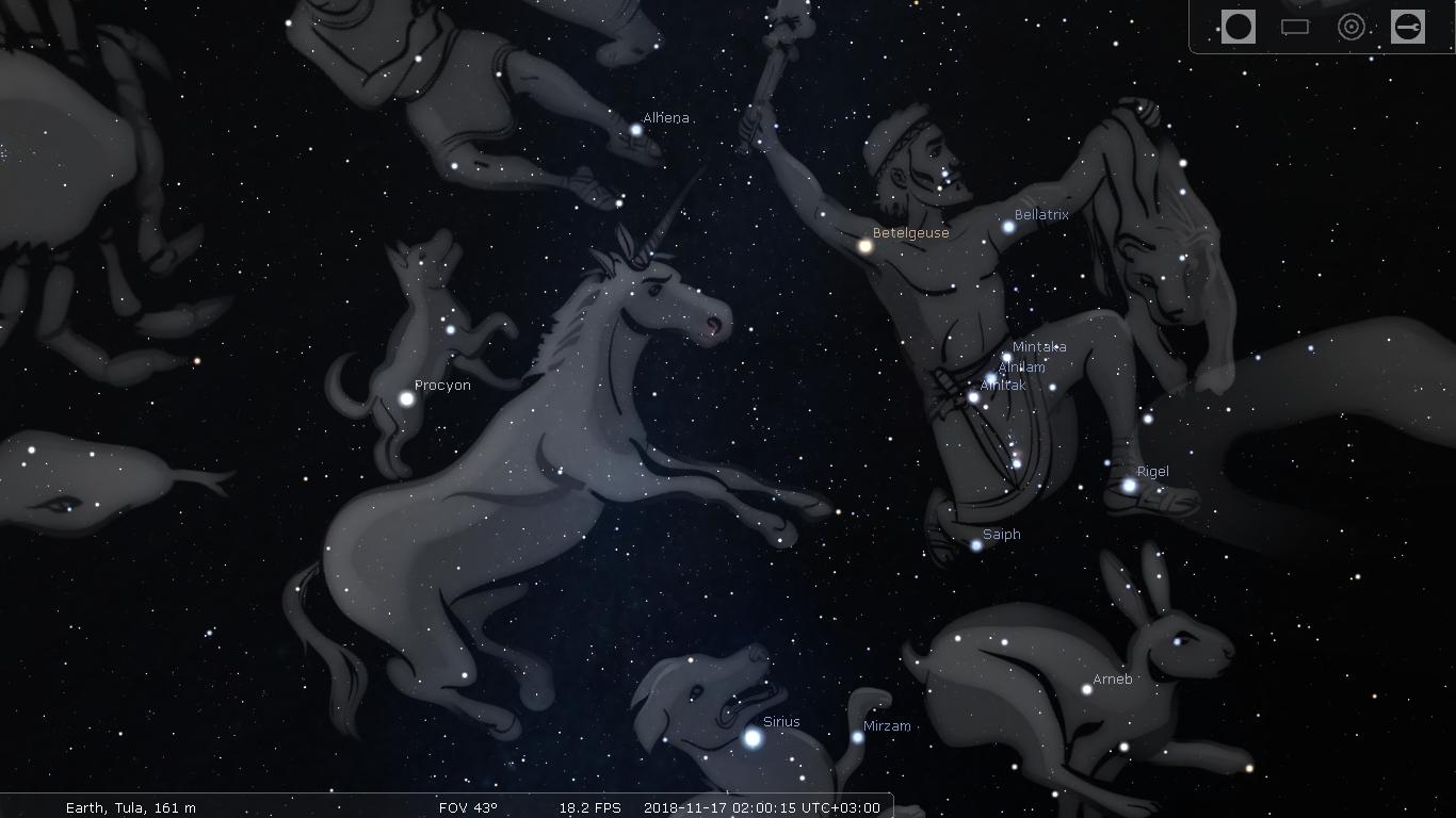 И снова в космос: как единорог Stellarium посещал - 5