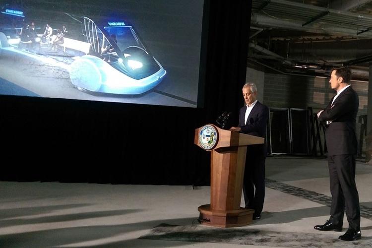 Чикагский туннель Илона Маска стал ближе к реальности
