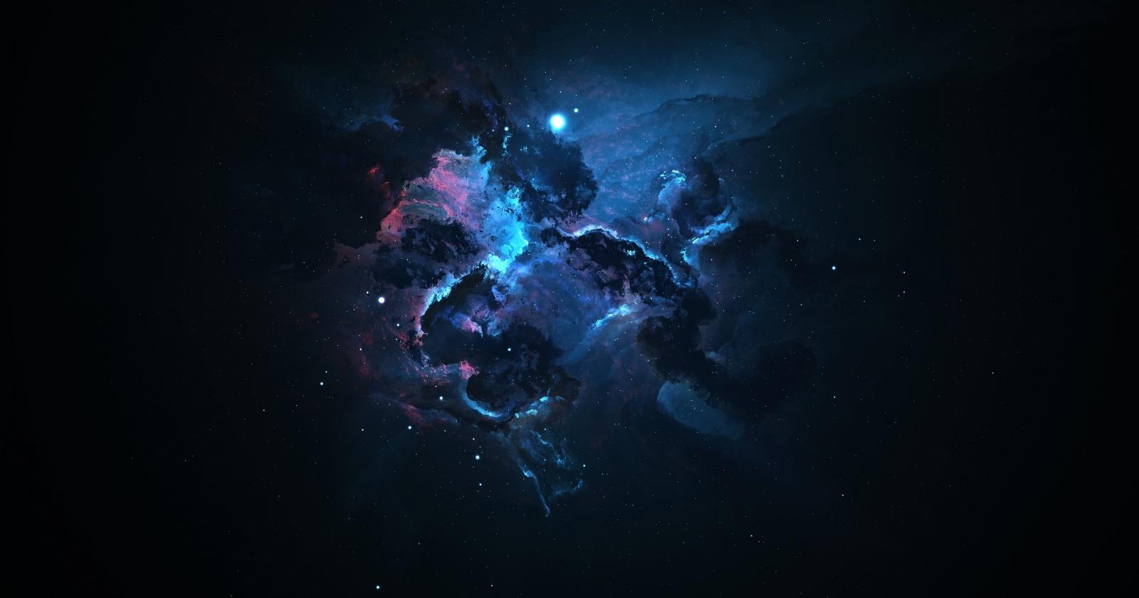 Древняя галактика оказалась полна темной материи: космическая аномалия